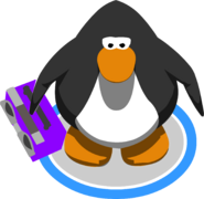 Purple Boom Box (ID 5159) In-Game