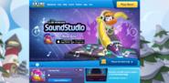 SoundStudioAppHomepageScreen2