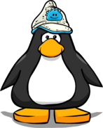 Blue Puffle Hat PC