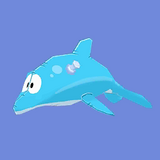 Inflatable Dolphin icon