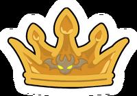 Pin de Corona del Rey Dragón icono