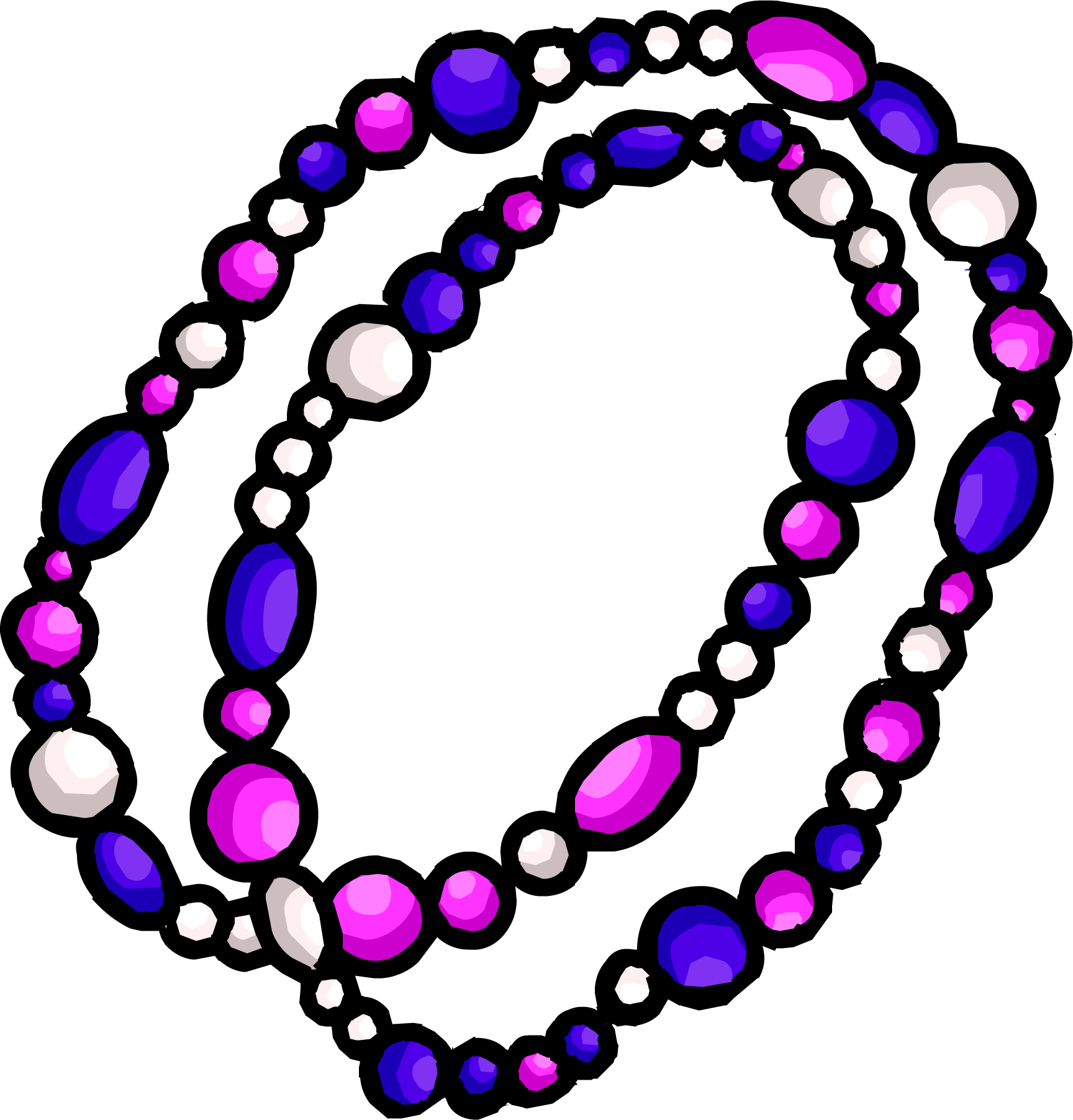 Image - Purple Beaded Necklace.png | Club Penguin Wiki | FANDOM ...