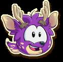 Purple deer selected