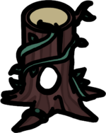 Fairy Tree Stump furniture icon ID 2074