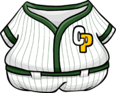Green Baseball Uniform