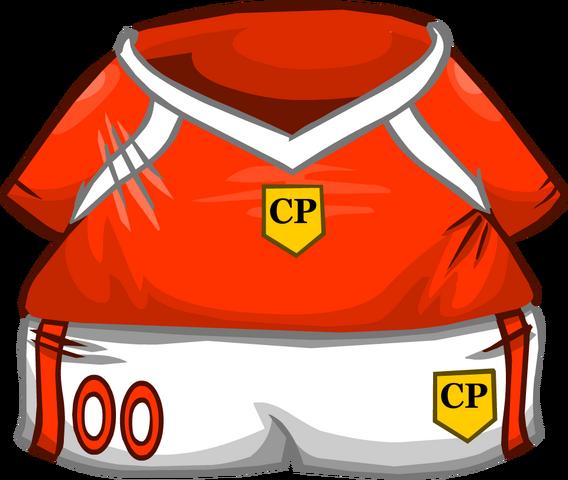 File:Orange Soccer Jersey.png