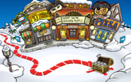 Rockhopper's Arrival Party Plaza
