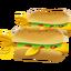 Supplies Fishdog Tray icon