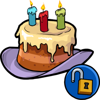 Cool Happy Birthday Hat Club Penguin Wiki Fandom Funny Birthday Cards Online Inifofree Goldxyz