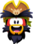 Emoticón de Rockhopper entusiasmado