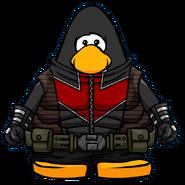 Hawkeye Bodysuit from a Player Card