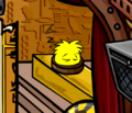 Keeper of the Stage Quest for Golden Puffle