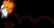 OrangePuffleJumpingSeptember2014PenguinStyle