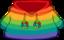 Rainbow O'berry Hoodie icon