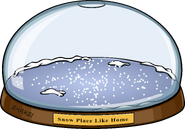 Snowglobe igloo in-game