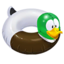 Tube Mallard Duck icon