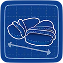 Blueprint Sandy Sandals icon