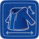 Blueprint Zip-up Hoodie icon