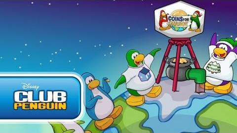 Coins For Change 2010 (Club Penguin)