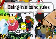 Bob being
