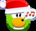 Emoji Carolling Penguin