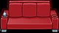 Red Designer Couch sprite 002