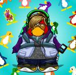 Rovin mi pinguino Carta de jugador 6