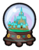 Arendelle Globe Pin icon