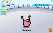 Bounce pet card