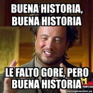 Buena Historia Gore