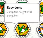 Easy jump stamp book