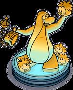 Estatua de Puffle libertad