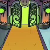 Ghostly Gates Background photo