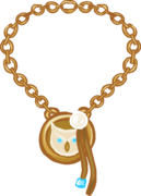 Gold Charm Necklace icon