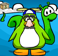 Imagine Wizard on clubpenguin 1 april fools