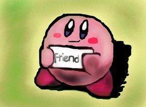 Kirby wants a Friend