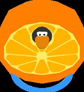 Orange Costume in-game