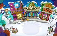 Puffle Party 2012 Plaza