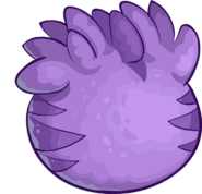 Purple-puffle-egg