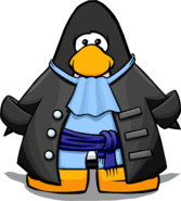Unlockable Gray Pirate Coat Player Card