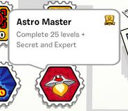Astro master stamp book