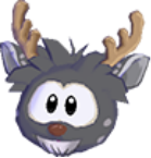 Blk deer 3d icon