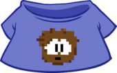 Brown Pixel Puffle Tee icon