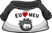 I Heart My Black Puffle T-Shirt icon pt