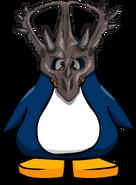 Máscara de Triceratops tarjeta