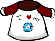 Old I Love My Puffle T-Shirt
