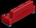 Red Designer Couch sprite 015