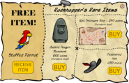 Rockhopper's Rare Items August 2007