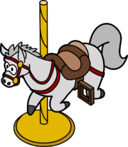 Caballito de Carrusel icono