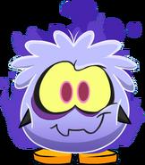 Disfraz de Puffle Fantasmagórico carta
